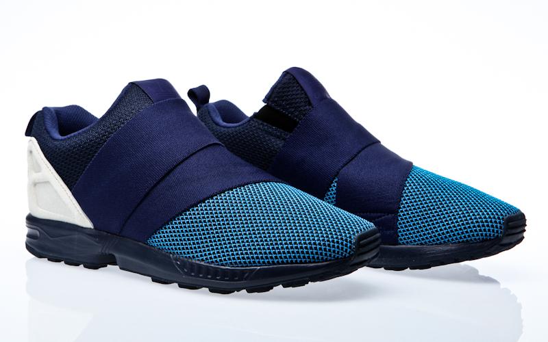 adidas originals zx flux baskets basses à lacets textile homme