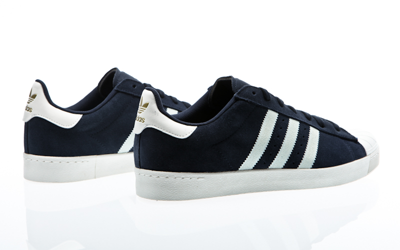 Adidas Adi Ease Skate Shoes Solid Grey Collegiate Navy White