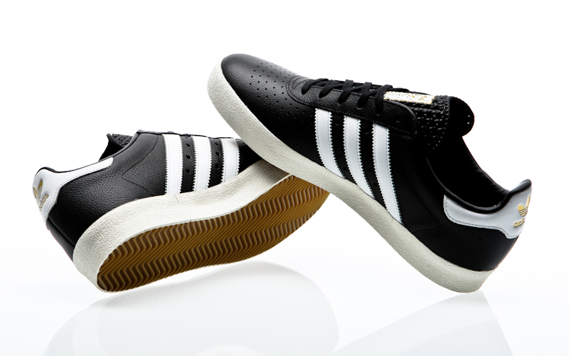 adidas adidas 350 black white gold s76213 sneaker mens