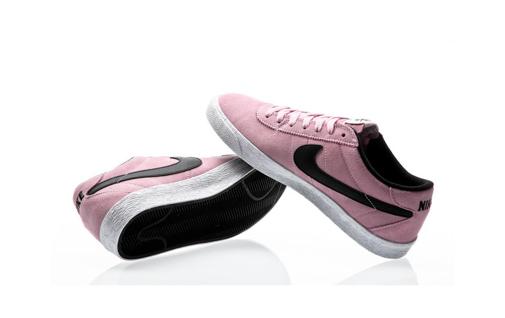 new arrivals f133d 0ddab ... Nike SB Zoom Bruin Premium SE prism pink-black-white ...