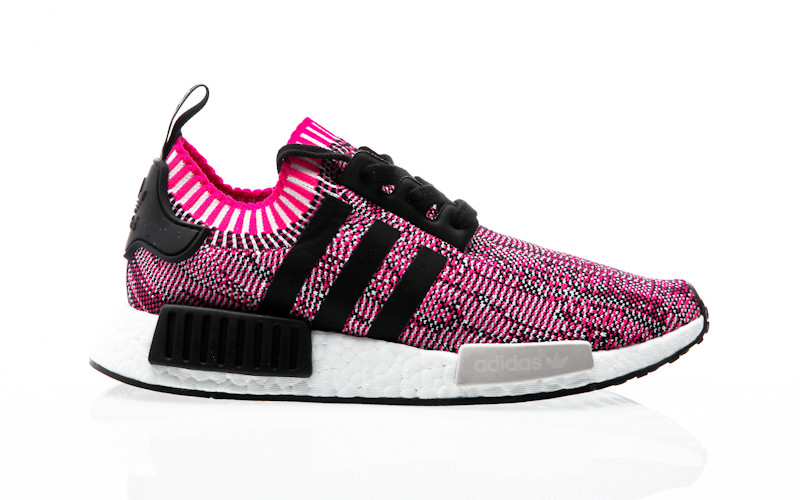304407f16751 adidas Originals NMD R1 W PK shock pink-core black-footwear white