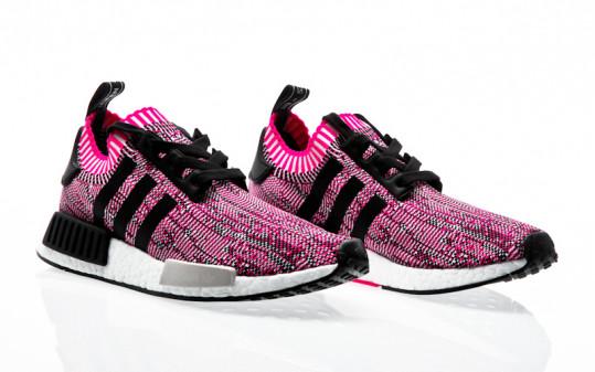 adidas Originals NMD_R1 W PK shock pink-core black-footwear white