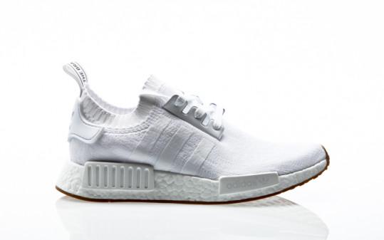 adidas Originals NMD_R1 PK Primeknit footwear white-footwear white-gum