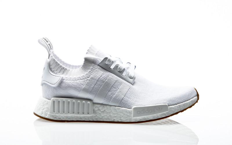 new product acfca c3281 adidas Originals NMDR1 PK Primeknit footwear white-footwear white-gum