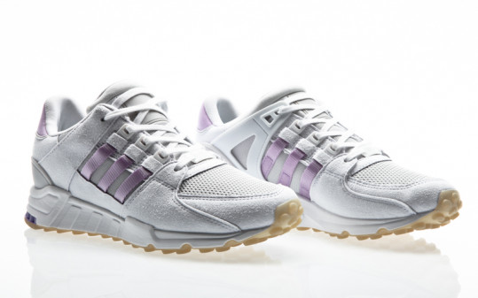 adidas Originals EQT Equipment Support RF W footwear white-purple glow-grey one