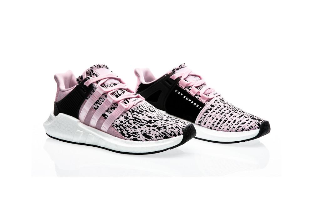 Adidas originali eqt sostegno 93 / 17 bz0583 rosa arancio giungla