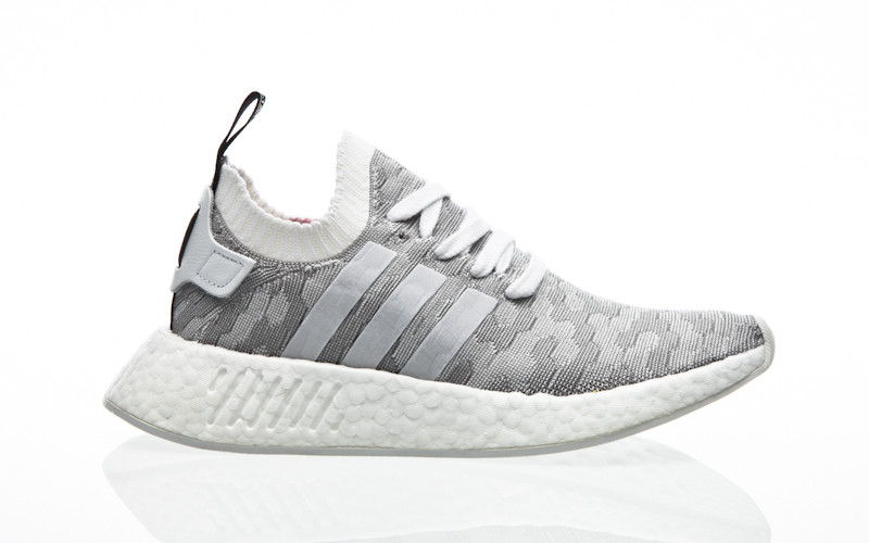 new style 3ee21 03623 adidas Originals NMD R2 PK W BY9520 grey  Orange Jungle