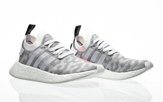 adidas Originals NMD_R2 PK W footwear white-footwear white-core black