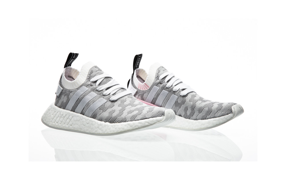... adidas Originals NMD_R2 PK W footwear white-footwear white-core black  ...