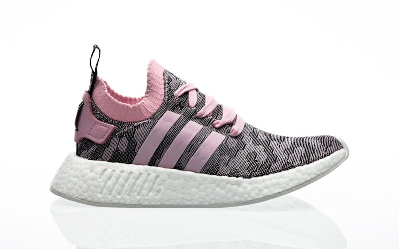 aad4fea9c2846a adidas Originals NMD R2 PK W wonder pink-wonder pink-core black