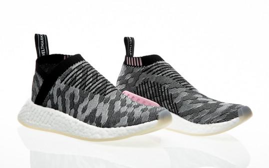 adidas Originals NMD_CS2 PK W core black-core black-wonder pink