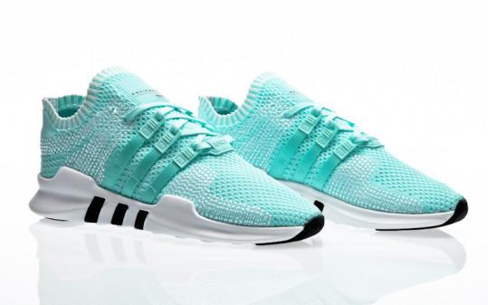 adidas Originals EQT Support ADV PK W energy aqua-energy aqua-footwear white