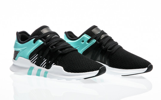 adidas Originals EQT Racing ADV W core black-core black-energy aqua