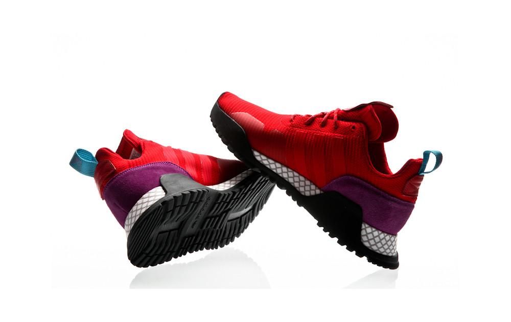 low priced 301fc 988e7 ... adidas Originals F1.4 PK scarlet-scarlet-shock purple ...