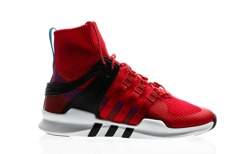 online store b07ee 2a04a adidas Originals EQT Equipment Support ADV Winter scarlet-scarlet-shock  purple