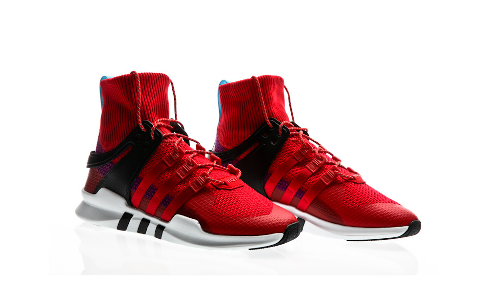 best loved e9bf1 1be15 ... adidas Originals EQT Equipment Support ADV Winter scarlet-scarlet-shock  purple ...