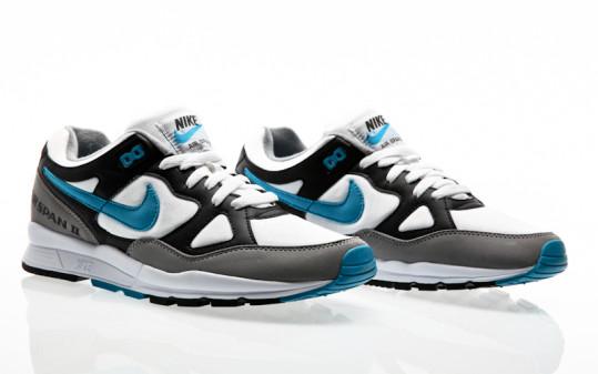 Nike Air Span II Shoe black-laser blue-dust-white