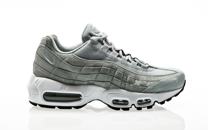 Nike Air Max 95 Premium WMNS 807443-013 Grau | Orange Jungle