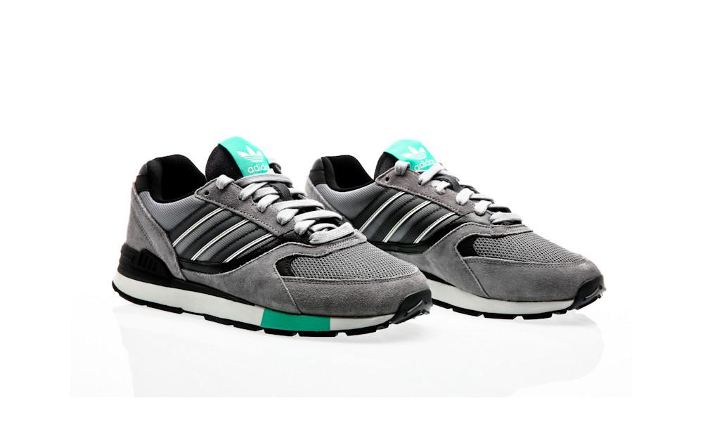 adidas Originals Quesence Grey Three-Grey Five-Core Black 95