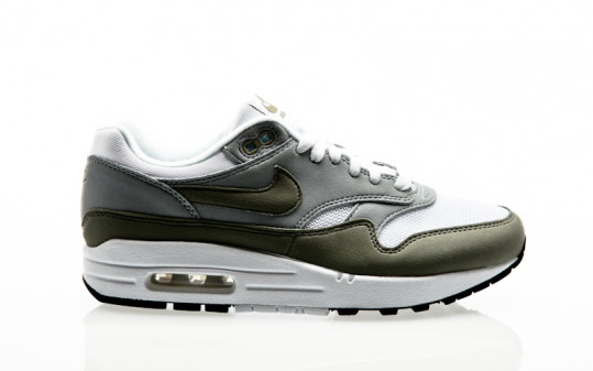 Nike Air Max 1 Womens white-dark stucco-light pumice-black