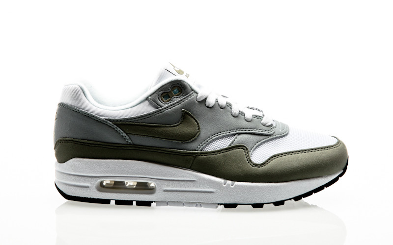 Nike Air Max 1 Womens white dark stucco light pumice black