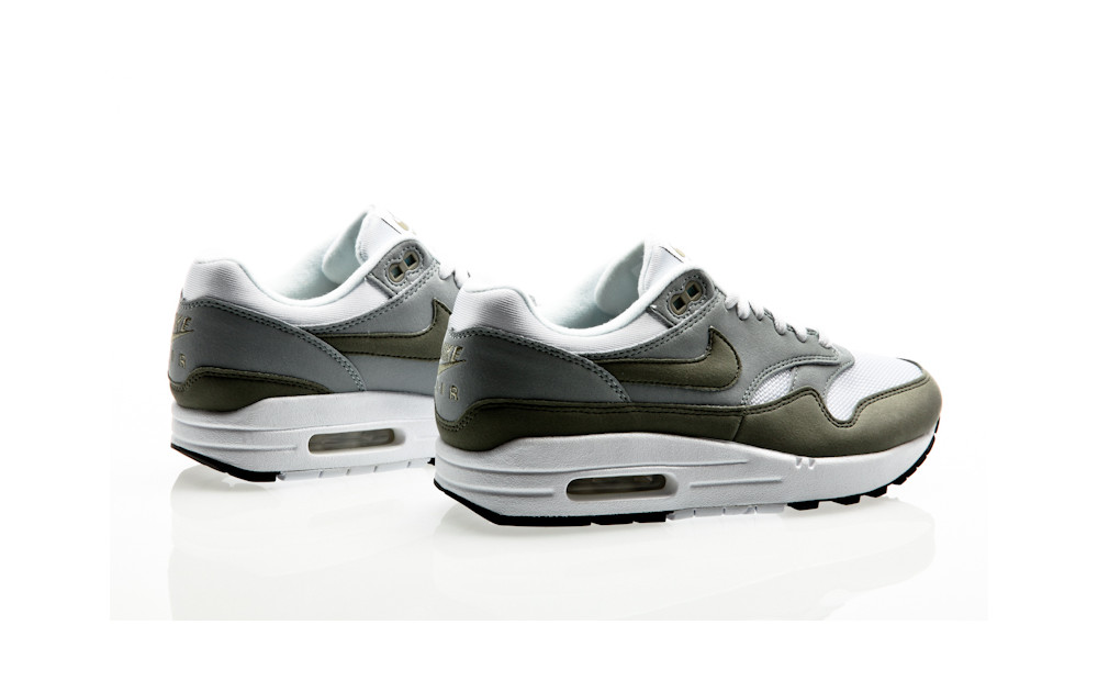 buy online df9c4 7c067 ... Nike Air Max 1 Womens white-dark stucco-light pumice-black ...