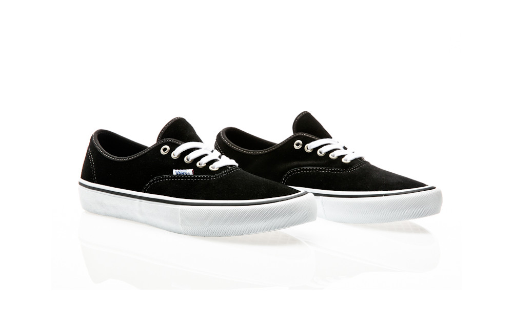 info for 55705 1eb69 ... Vans Authentic Pro (Suede) black ...