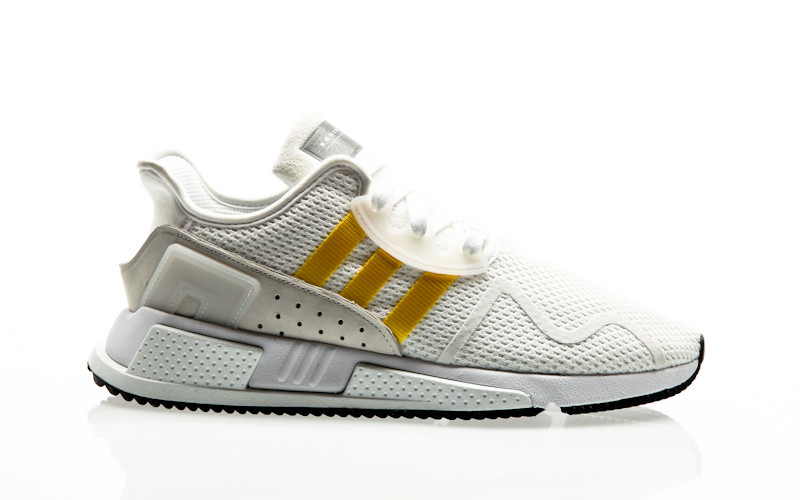 adidas Originals EQT Equipment Cushion ADV footwear white-eqt yellow-silver metallic