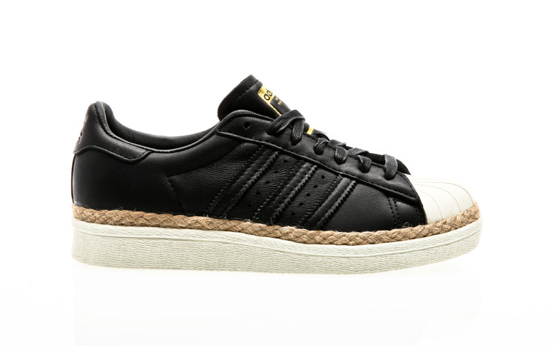 arpón Influencia botella  adidas Originals Superstar 80S New Bold W CQ2365 black| Orange Jungle