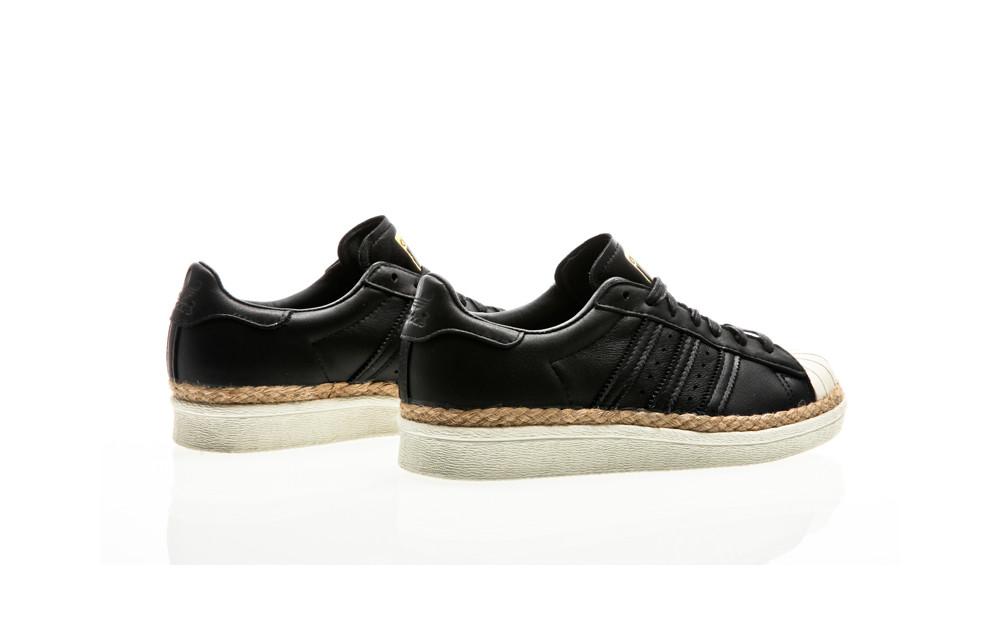 ... adidas Originals Superstar 80S New Bold W core black-core black-off  white ... 67cdd5669c790