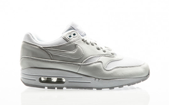 Nike Air Max 1 Shoe Womens white-white-pure platinum