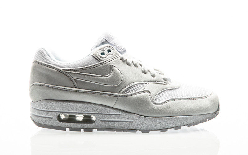Nike White Pure Platinum Womens 1 Air Max Shoe TF1lKJc