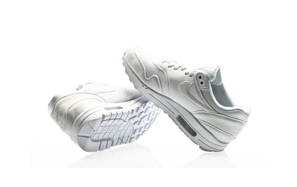 hot sale online 29b0f d0f30 ... Nike Air Max 1 Shoe Womens white-white-pure platinum ...