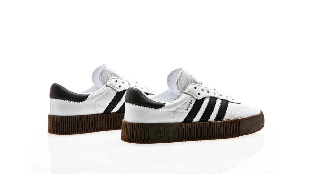 03482fe8015e4 adidas Originals Sambarose W AQ1134 white  Orange Jungle