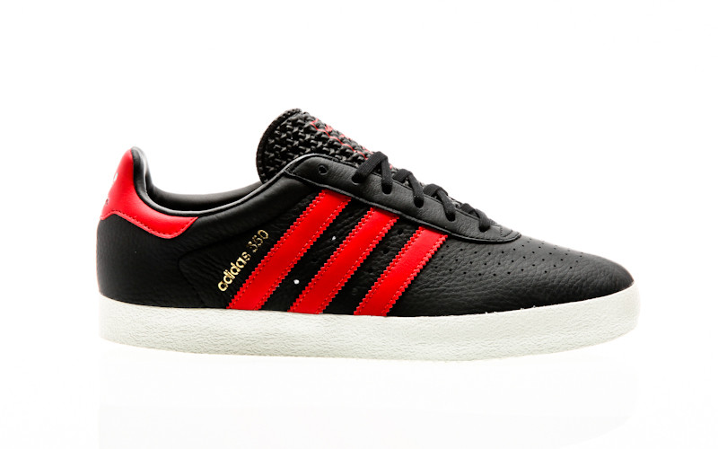 huge discount 638aa ef477 adidas Originals Adidas 350 core black-scarlet-off white