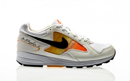 Nike Air Skylon II Womens white-black-amarillo-total orange