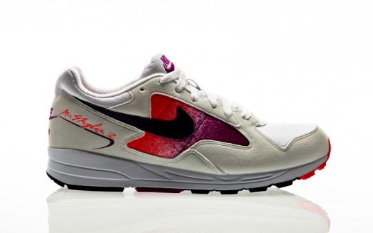 Nike Air Skylon II white-court purple-solar red