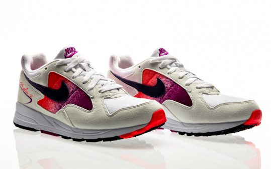 Nike Air Skylon II white-court purple-solar red