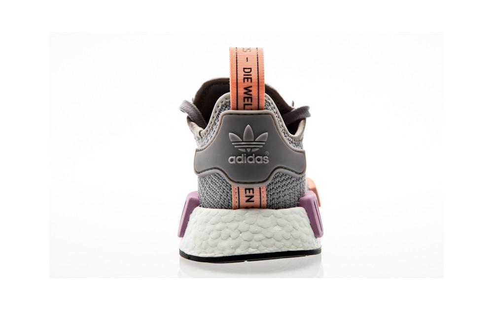 super popular f80b8 ed9ae adidas Originals NMD_R1 W B37647 Grey| Orange Jungle