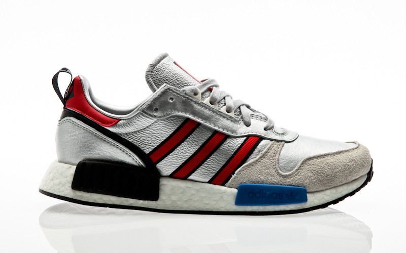 13c9d18fd adidas Originals Risingstar X R1 Never Made silver metallic-collegiate  red-footwear white