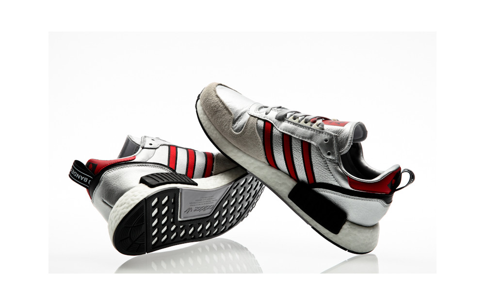 e5bdc8824 ... adidas Originals Risingstar X R1 Never Made silver metallic-collegiate  red-footwear white ...