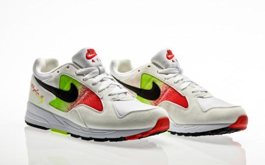 Nike Air Skylon II white-black-volt-habanero red
