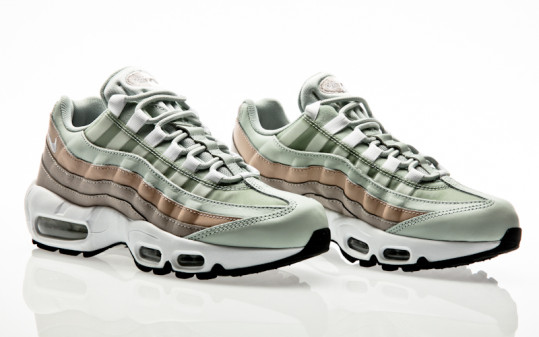 Nike Air Max 95 Shoe light silver-white-moon particle