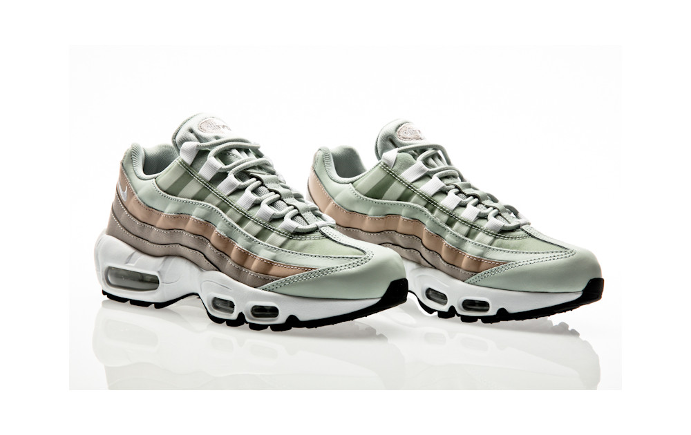 hot sale online 313bd 0b42b ... Nike Air Max 95 Shoe light silver-white-moon particle ...