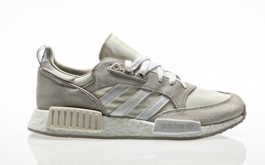 adidas Originals Bostonsuper x R1 Never Made Pack cloud white-footwear white-one grey
