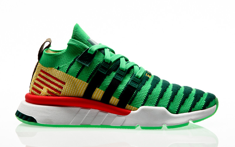adidas Originals x Dragon Ball Z EQT Support Mid ADV PK Shenlong core green-core black-bold gold