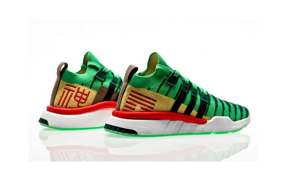 dorado engañar milicia  adidas Originals x Dragon Ball Z EQT Support Mid ADV PK Shenlong D97056  Green| Orange Jungle