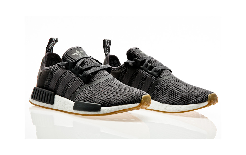 f3a987cd9ed61 ... adidas Originals NMD R1 grey five-grey five-core black ...