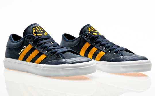 adidas Skateboarding Matchcourt collegiate navy-customized-footwear white
