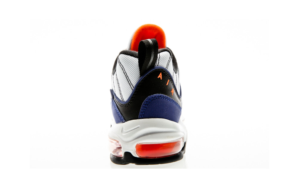 c2135519d9 ... Nike Air Max 98 white-deep royal blue-total orange-black
